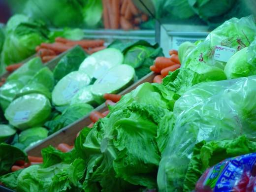 Find vegetables you enjoy eating.