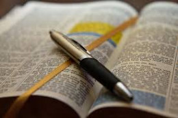 Devour the Word of God.