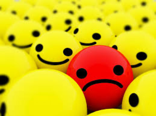 sad faces