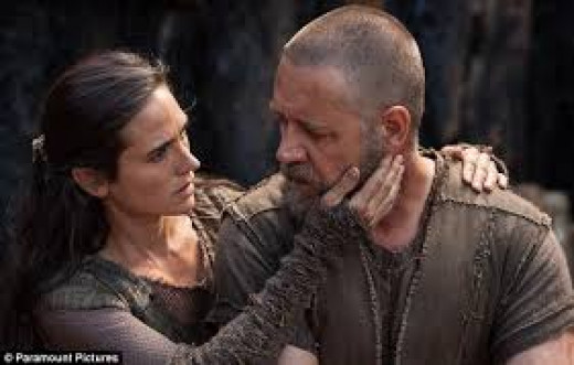 Jennifer Connelly and Russell Crowe star in Noah, an epic story of the destruction of Earth by flood waters as told in the Bible.  This movie bears limited resemblance to the biblical tale.