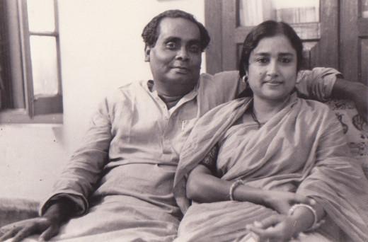 George da with Kanika Badyopadhyay in 1961