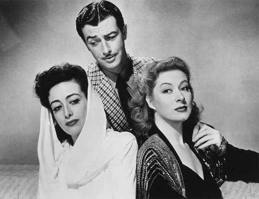 Only in Hollywood could Joan Crawford be considered competition for Greer Garson.