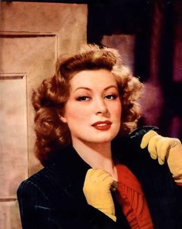 A fiery dame.