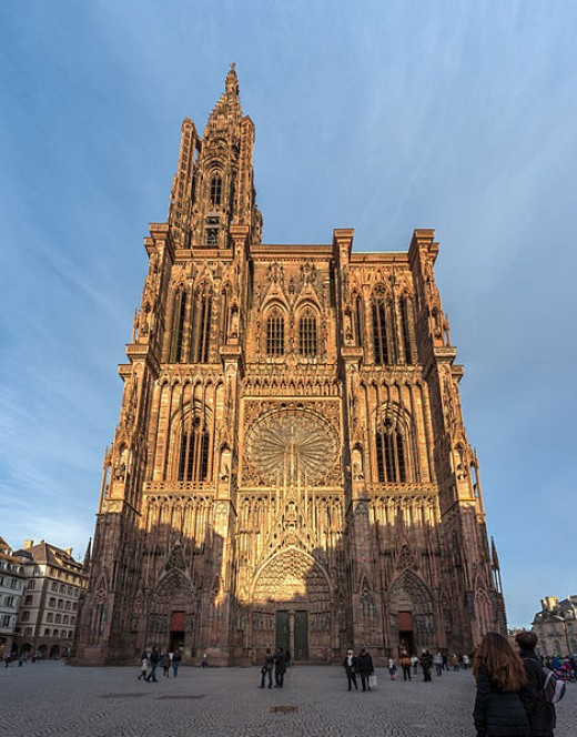 Strasbourg Cathedral, France.
