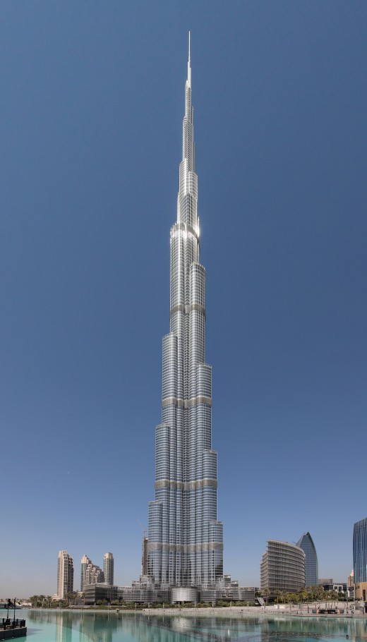Burj Khalifa, Dubai, UAE. World's tallest structure/building.