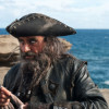 Blackbeard in Pirates of the Caribbean 4