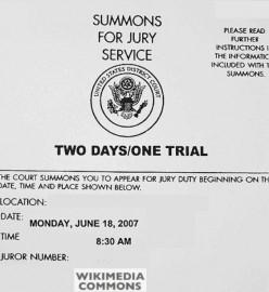 My Jury Duty Experience