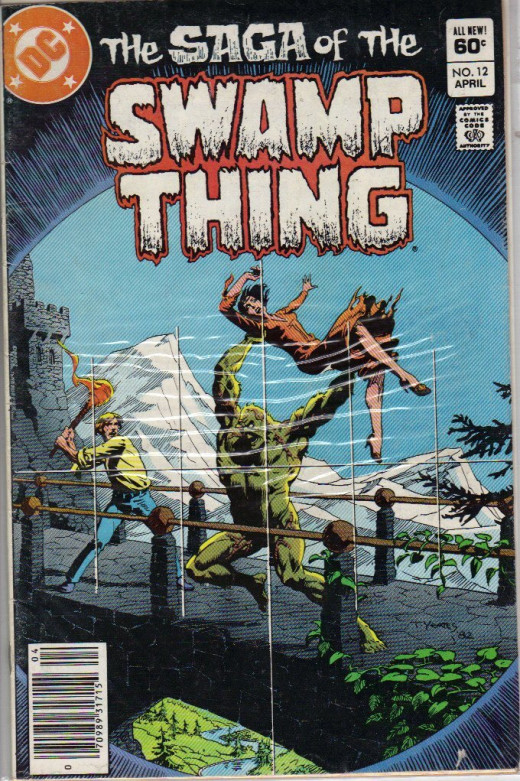 Saga of the Swamp Thing #12 Comic Book by DC Comics