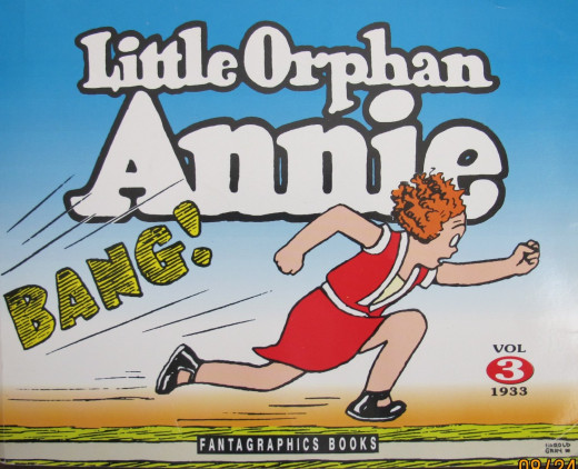 Fantagraphics LITTLE ORPHAN ANNIE BANG! Comic Style BOOK Reprint VOL 3 1933 Harold Gray (1991)