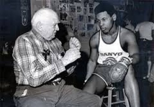 Cus D Amato taught a young Mike Tyson about boxing and about life.
