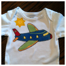 For a flying high little guy!