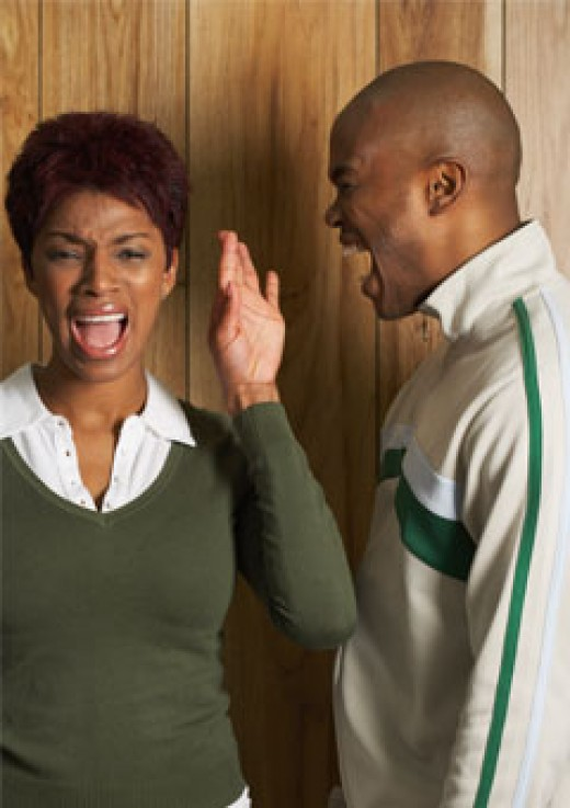 Abusive marriages have no solution other than to GET OUT