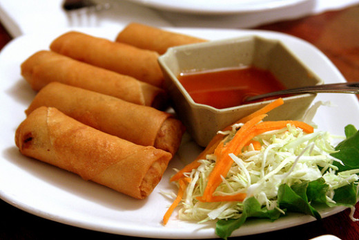 Mini-Egg Rolls are also easier to make, and can be made in your own home!