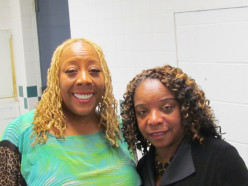 Patty Jackson, of the very popular WDAS FM, served as one of the announcers for the artists. I took the opportunity to interview her backstage concerning her words of wisdom.