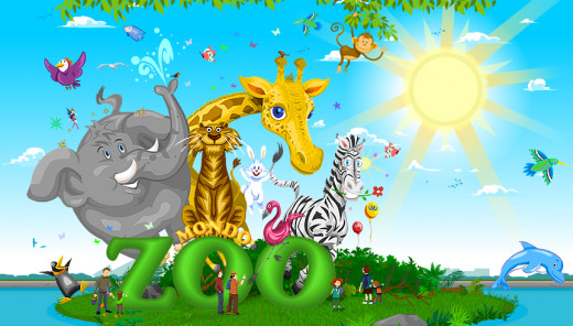 Mondo Zoo: Manage a big virtual zoo full with different types of animals