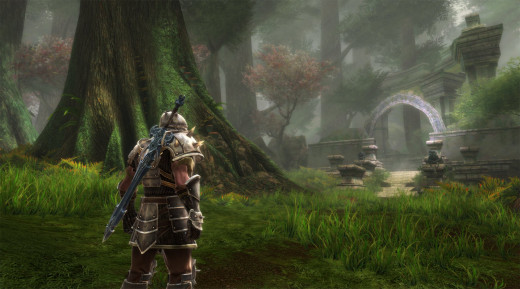 "Forget the real world, jump into the unreal world of the ""Kingdoms of Amalur"""