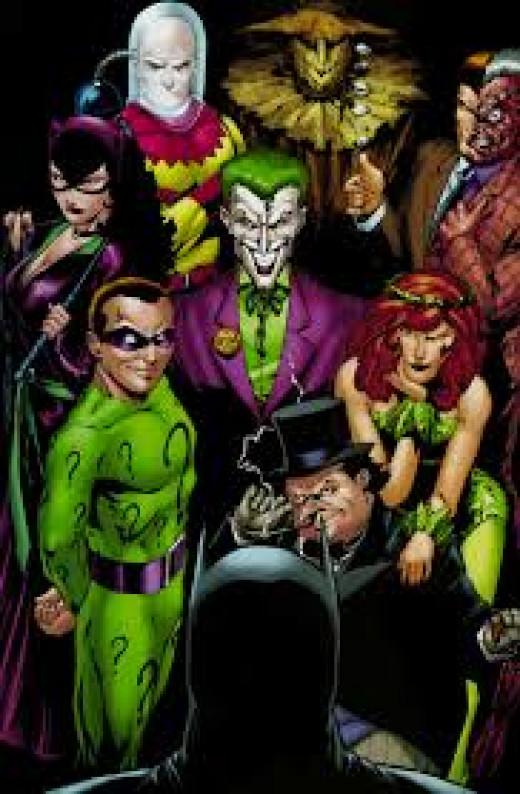 The Ultimate Top Twenty Batman Villains Hubpages