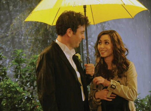 The Yellow umbrella and the Mother