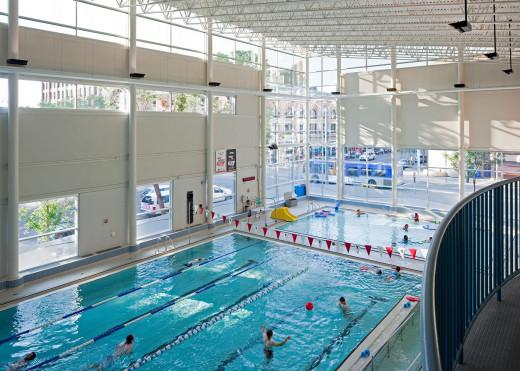Drumheller aquaplex, Alberta