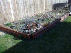 Gardening Tips for Busy Girls: Easy Spring  Cleanup Garden Project Part One