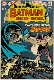 Man Bat makes his debut in Detective Comics # 400 from 1970.