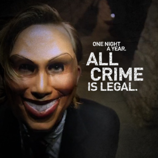 """A poster from the film """"The Purge"""""""