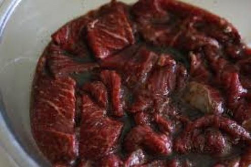 Beef Marinating