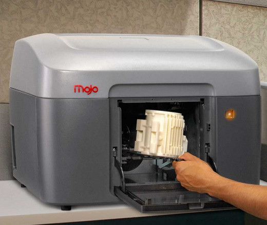 Mojo 3D Printer photo by Intel Free Press