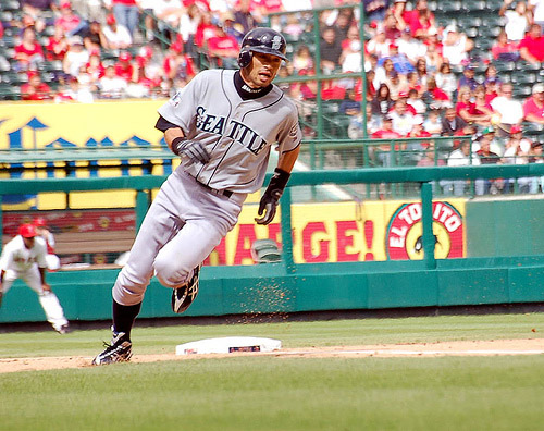 Ichiro Suzuki hasn't matched some of his rookie numbers, but remained the same exciting player for a decade.