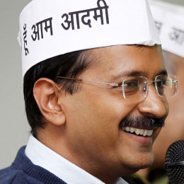 Arvind Kejriwal: new face in Indian Politics.