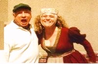 "Mel Brooks did a selfie with me and the reason he is making the ""O"" face with lips is because in all the scenes, as he filmed ""Robin Hood Men In Tights,"" all he saw was my mouth ""OH""."