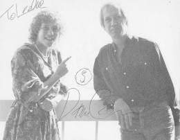David Carradine (RIP) was my hero as a child and growing up. I loved his character of Kwai Change Caine in the Kung Fu TV series of the 1070's. Then I came out & finally met him and interviewed him. I could tell he liked me, just one of our selfies!