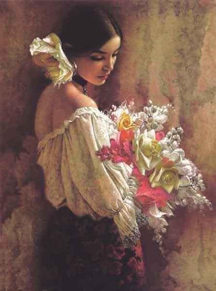 . . .Maria, the living art, priceless living art who kept my heart pumping life . . .