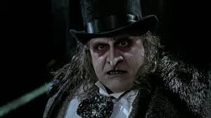Danny Devito plays the Penguin in the movie Batman Returns.