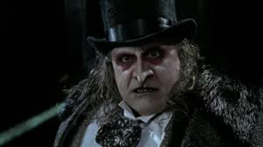 Danny Devito plays the Penguin in the movie Batman Returns.