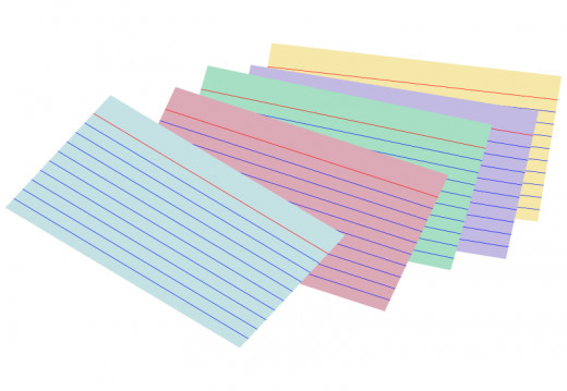 Having some short notes written on index cards can help prompt you to remember a specific topic you want to talk about.