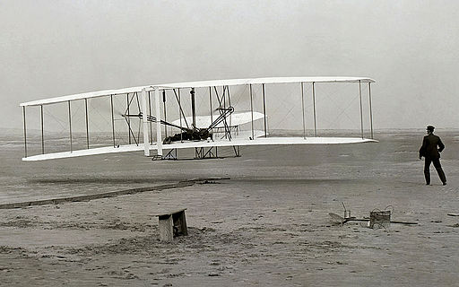 The beginning of the Wright brothers' legacy.