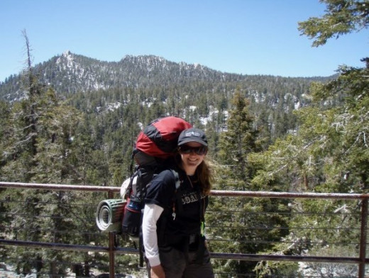 Setting off from the Palm Springs Tram, towards Mt. San Jacinto.  Get out there and explore!