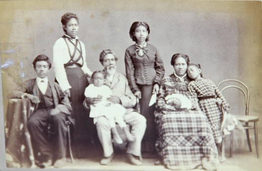 Native Hawaiian family c. 1878