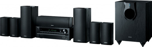 Onkyo Home Theater Speaker and Receiver system (7.1 Channel, Model no. HT-S5600)
