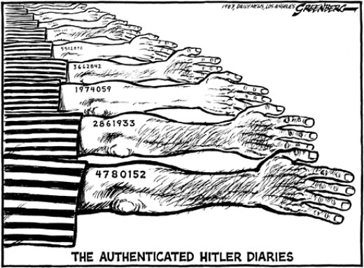 Authenticated Hitler doaries