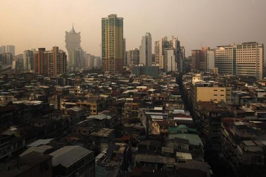 Modern day Macau