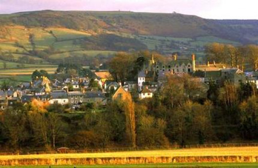 Hay on Wye. A small town firmly entrenched in the Business of Books and Writing