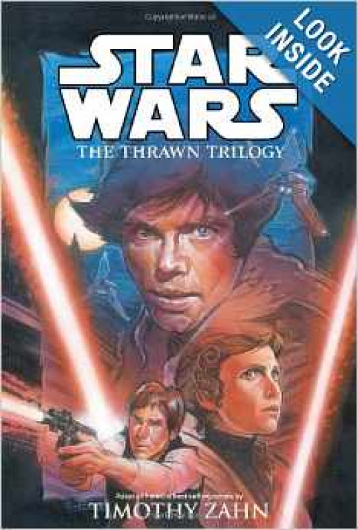 This book happens only five years after the end of the movie series. Read to learn about the only alien that the Empire ever really liked: Thrawn. Image: Amazon