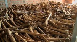 Rwanda remains, not Hitler's genocide