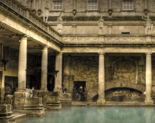 Roman bathhouse still in use today Source:Pinterest