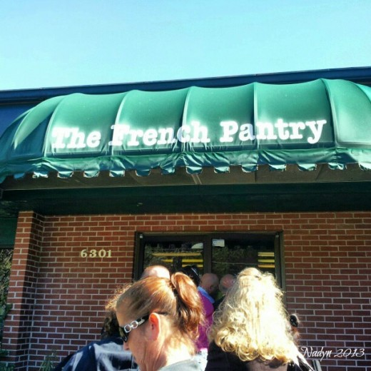 Hidden in the south side of Jax, French Pantry is a bakery that often has a line dripping out the doors.   The tasty food, however, is worth the wait.