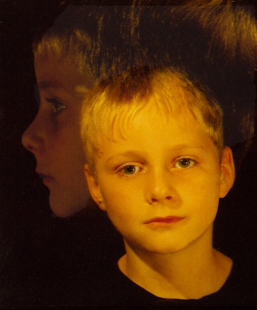 Oswald Engelhardt, Kinderportrait, 1993. Hinweis: Die hier abgelichtete Person ist mit der Veröffentlichung dieses Bildes einverstanden