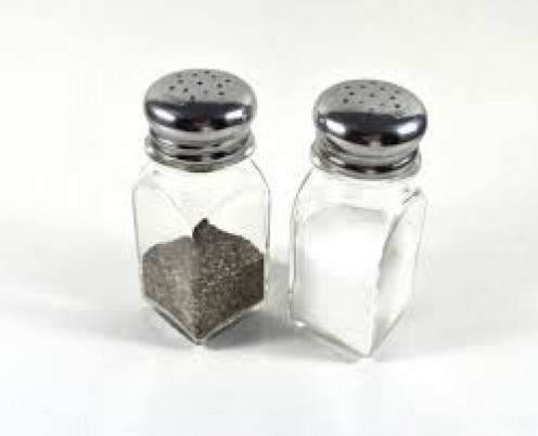 Salt and pepper are used each and every time that I cook.This adds flavor dimension to each dish.
