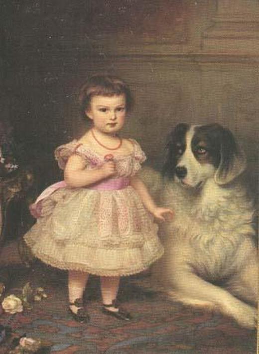 Maria Valeria of Austria circa 1870